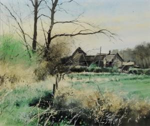 "original painting ""The Barn"""