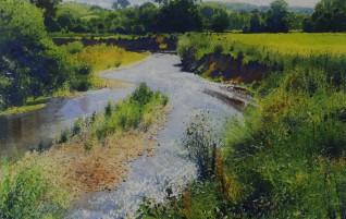 Watercolour artist Richard Thorn